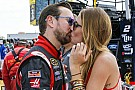 "She said, ""Yes!"" Ashley Van Metre accepts Kurt Busch's proposal"