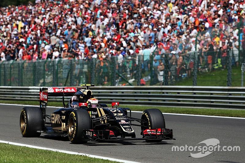 Lotus sul podio a Spa, ma dispone solo di tre cambi!