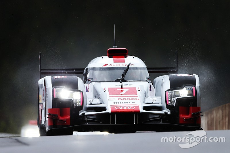 Nurburgring WEC: Audi on top in damp first practice