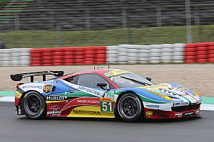 WEC Qualifying report Double Ferrari pole at Nurburgring