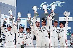 WEC Relato da corrida Webber vence pela primeira vez no WEC em 1-2 da Porsche