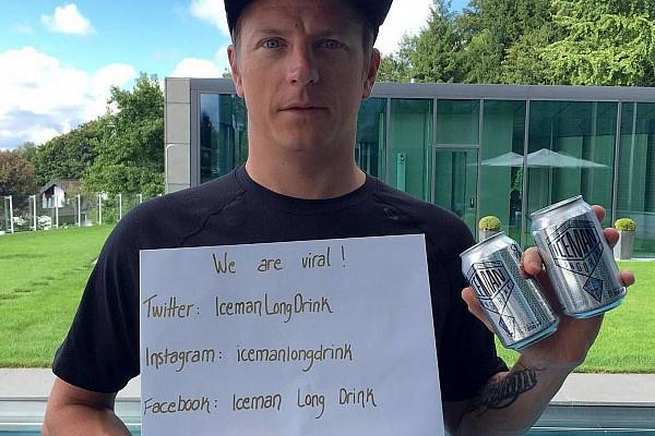 Raikkonen presenta bebida alcohólica llamada