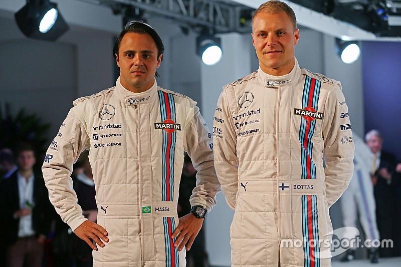 Officiel - Williams confirme Massa et Bottas pour 2016