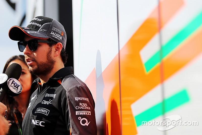 """Para Pérez, renovação com Force India """"é questão de tempo"""""""