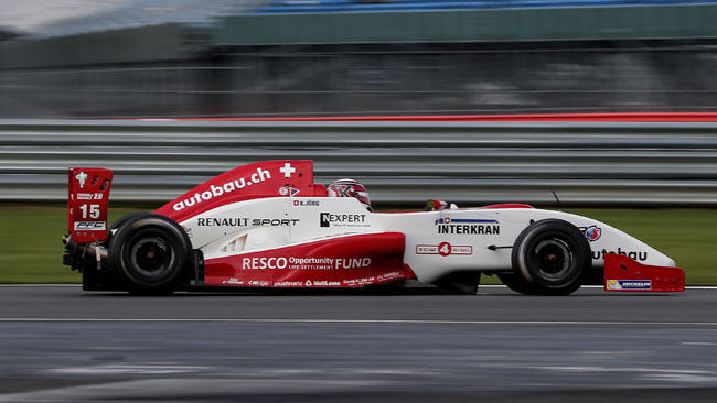 Bella vittoria di Kevin Jorg in gara 2 a Silverstone