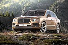 Le Bentley Bentayga sort du bois
