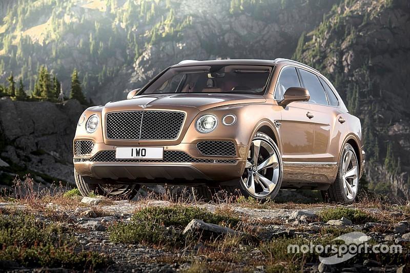 Le Bentley Bentayga sort du bois