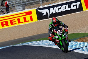 World Superbike Qualifying report Jerez WSBK: Sykes leads Kawasaki 1-2 in qualifying