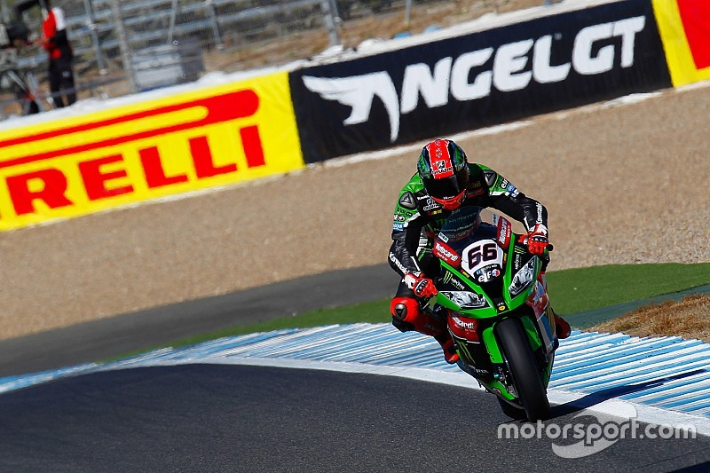 Jerez WSBK: Sykes leads Kawasaki 1-2 in qualifying