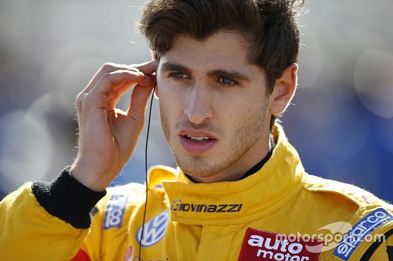 Джовинацци выиграл первую гонку Ф3 Мастерс