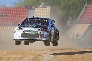World Rallycross Résumé de course Solberg met Kristoffersson et Hansen au pas en finale