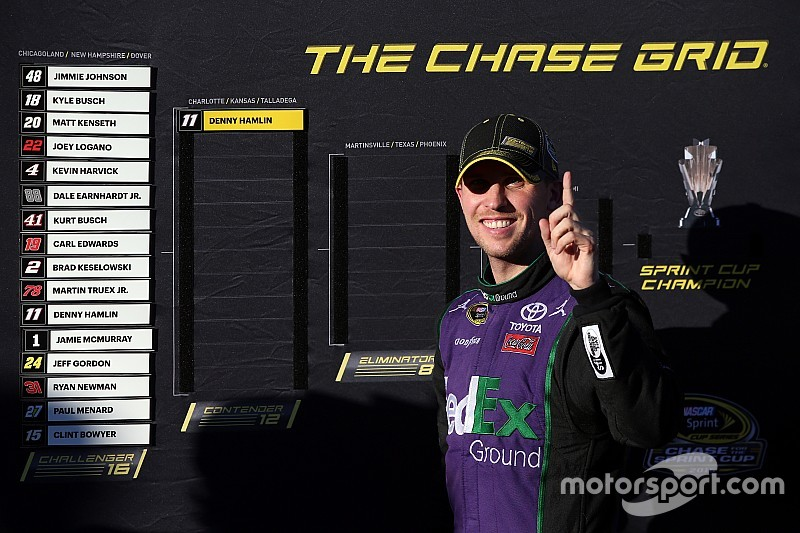 Hamlin's high hopes for the remainder of the Chase