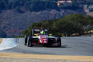 Indy Lights Race report Spencer Pigot dominates Mazda Raceway Laguna Seca to capture 2015 Indy Lights Championship