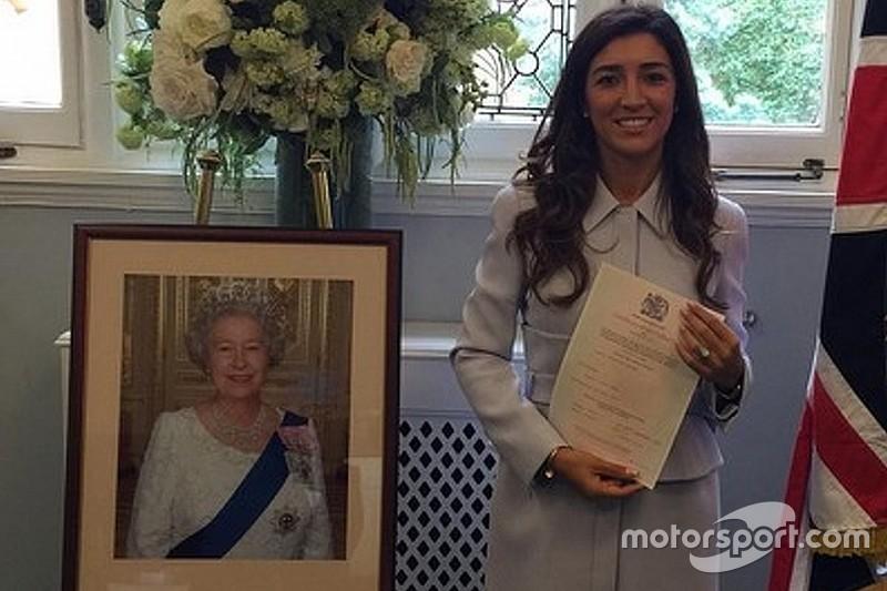Mulher de Bernie Ecclestone, brasileira se torna britânica