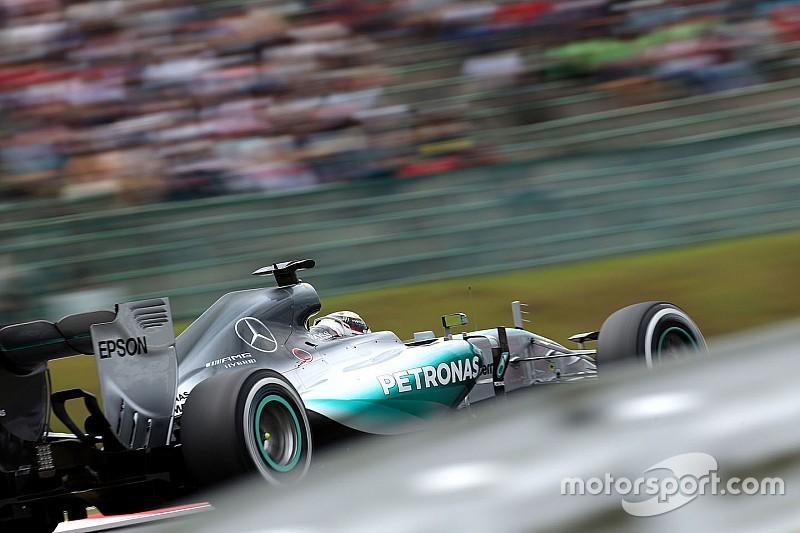 Hamilton a commis deux erreurs en Q3