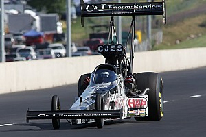 NHRA Qualifying report Dixon, Beckman, Anderson and Savoie lead qualifying at Midwest Nationals