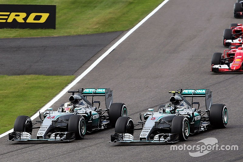 "Hamilton downplays start move: ""It was my corner"""