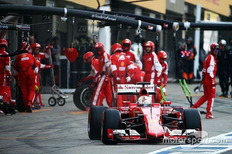 Феттель признал тактическую ошибку Ferrari