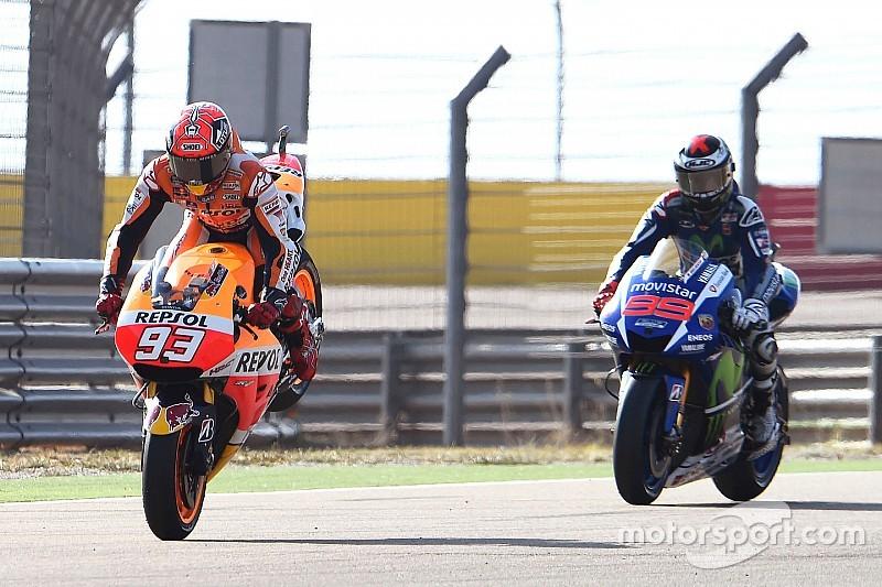 Lorenzo está a sólo 14 puntos de Rossi