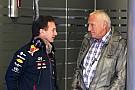 Lauda: Mateschitz ha perdido el interés en la F1