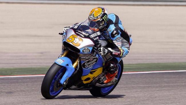 Ecco Tito Rabat in sella alla Honda RC213V MotoGp