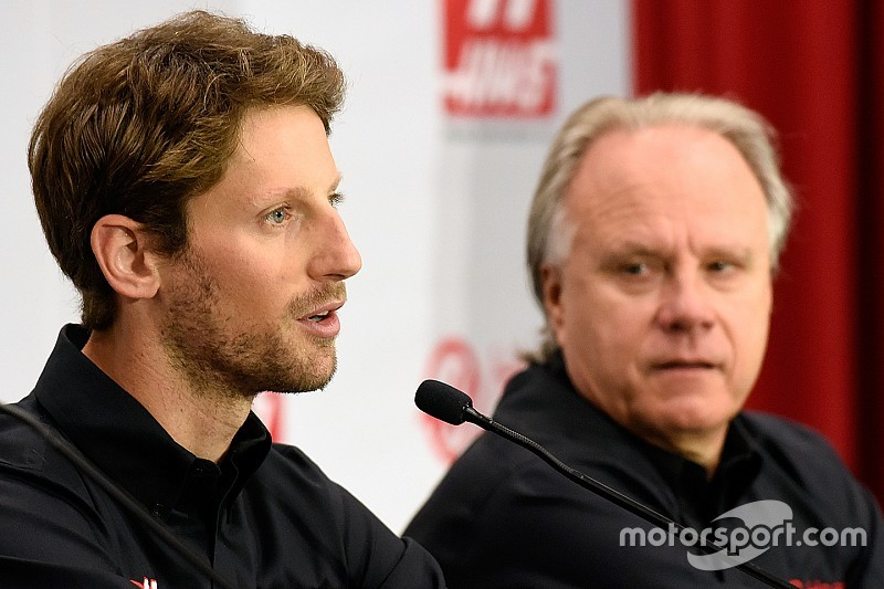 """Haas """"surprised"""" to have landed Grosjean's signature"""