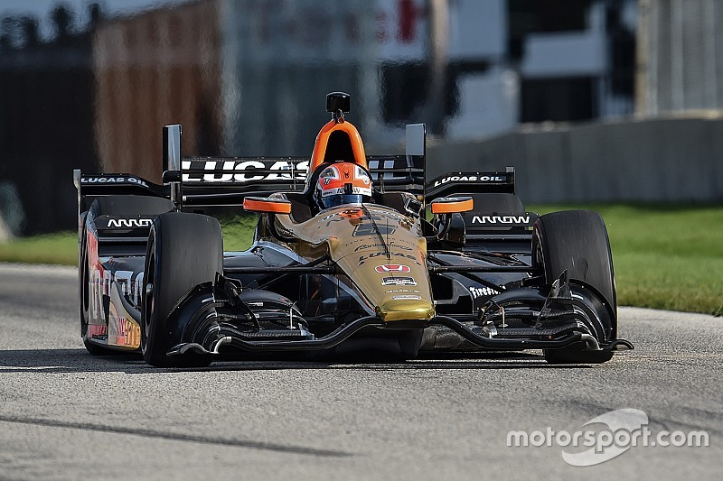 Vidéo - James Hinchcliffe de retour à Road America en IndyCar