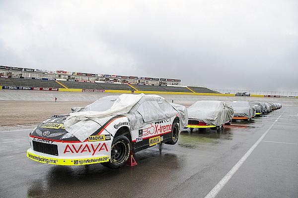 NASCAR Mexico Se suspende la carrera de NASCAR México