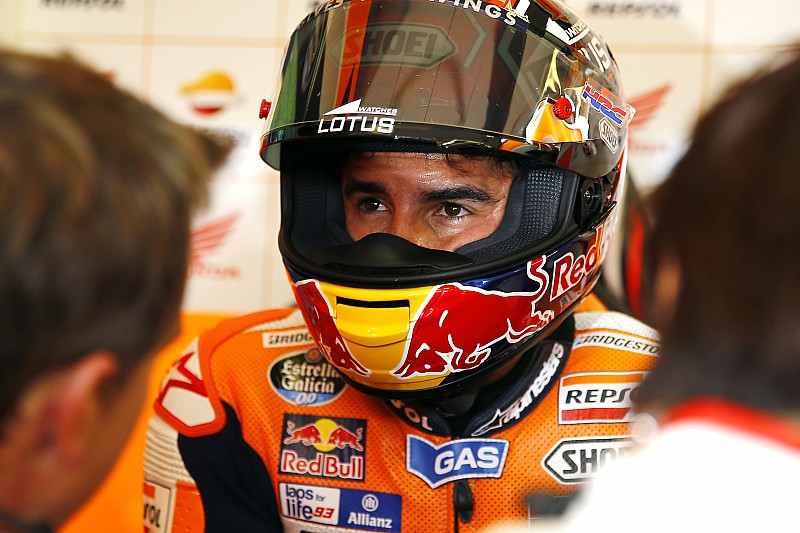 """Marquez admits he """"won't be at 100 percent"""" in Japan"""