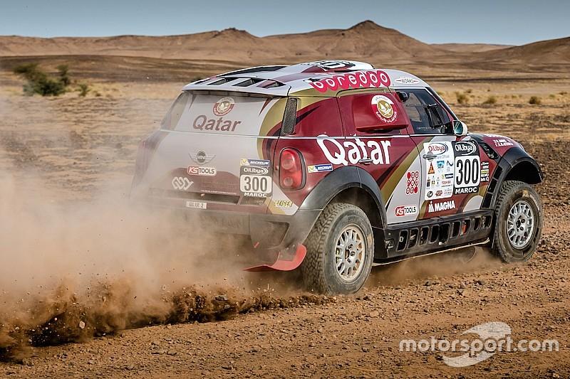 Al-Attiyah takes Rally Morocco lead as Sainz stops