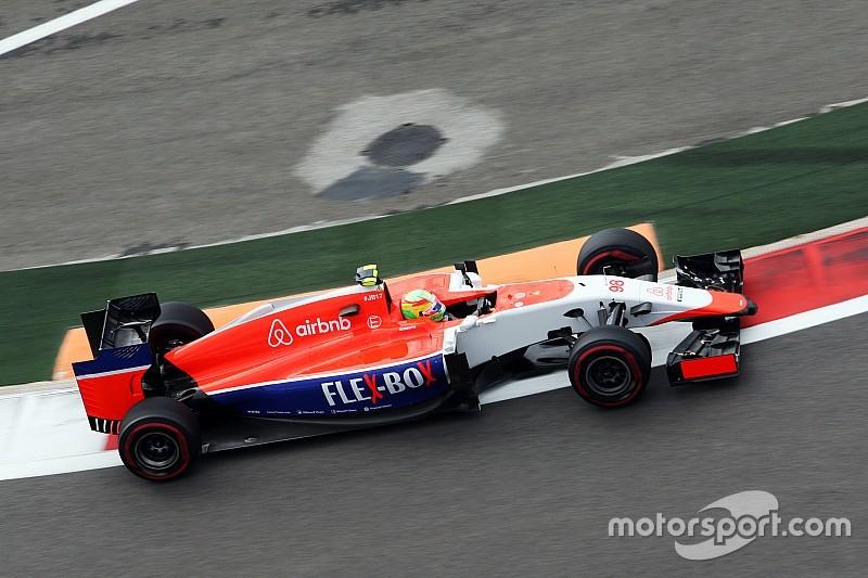 Merhi, aliviado por el estado de Carlos Sainz