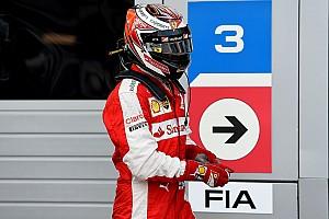 F1 突发新闻 莱科宁:我的举动不愚蠢