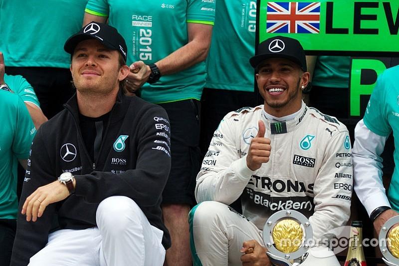 """Rosberg es """"realista"""" sobre sus chances tras el abandono de Rusia"""
