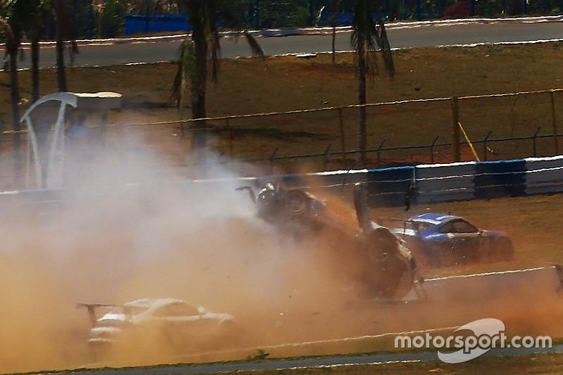 """De volta, Pedro Piquet diz ter tido sorte: """"não bati a cabeça"""""""