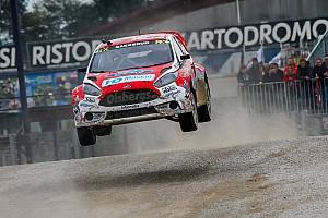 Rallycross-WM Rennbericht Andreas Bakkerud siegt für Ford in Italien