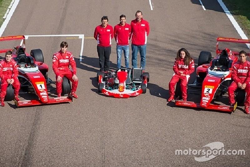 Fiorano: anche una ragazza nello stage della Ferrari!