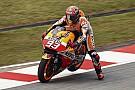 Marquez denies deliberately towing Lorenzo in qualifying