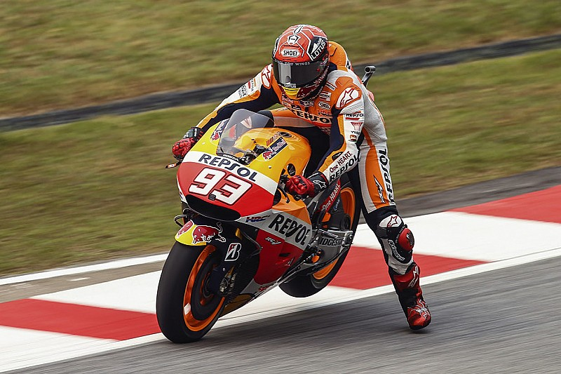 Marquez denies deliberately towing Lorenzo in qualifying