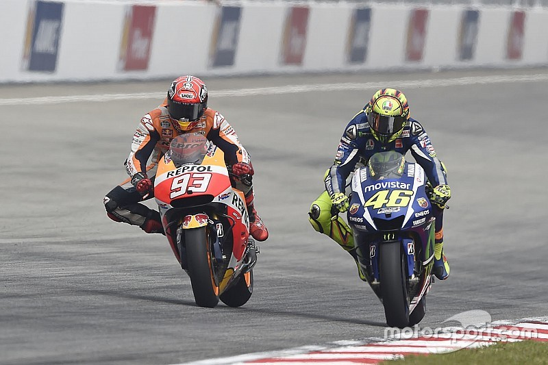 MotoGP race direction explains Rossi/Marquez clash ruling