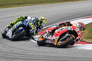 MotoGP Special feature Rossi/Marquez clash: Reaction from riders on social media