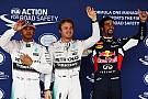 Rosberg pakt pole na schrappen Q3, Verstappen naar P8