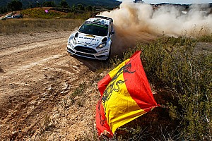 WRC Race report M-Sport maintain points record at difficult Rally de Espana