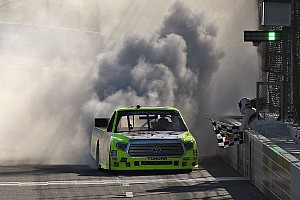 NASCAR Truck Race report Points battle tightens as Crafton wins Martinsville