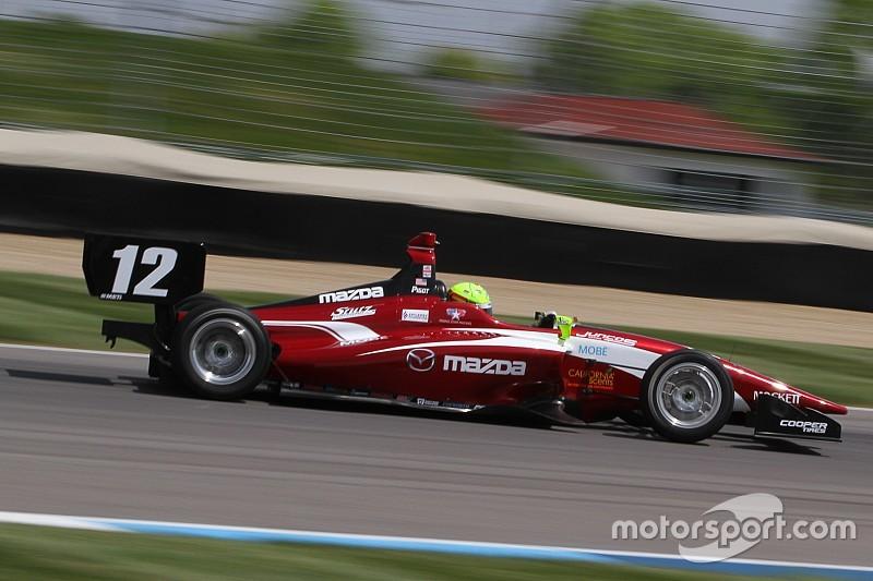 El equipo campeón de Indy Lights, todavía con una vacante