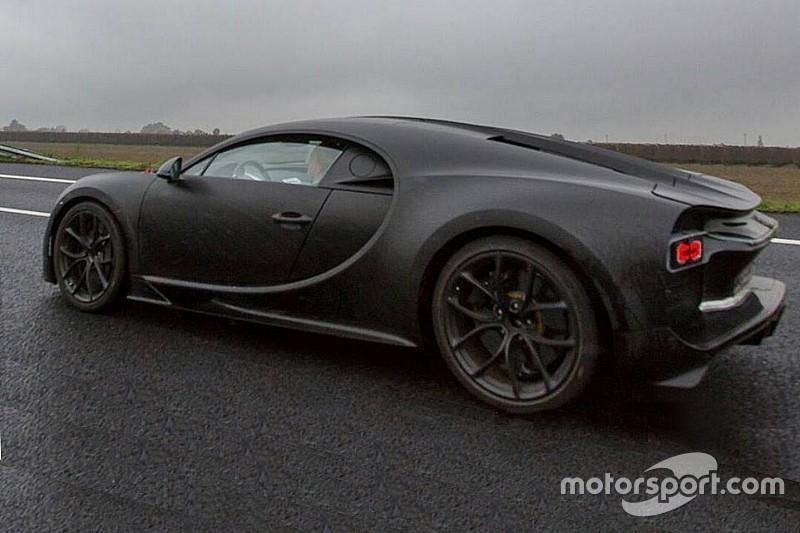 Spyshot - La nouvelle Bugatti Chiron aperçue en Italie
