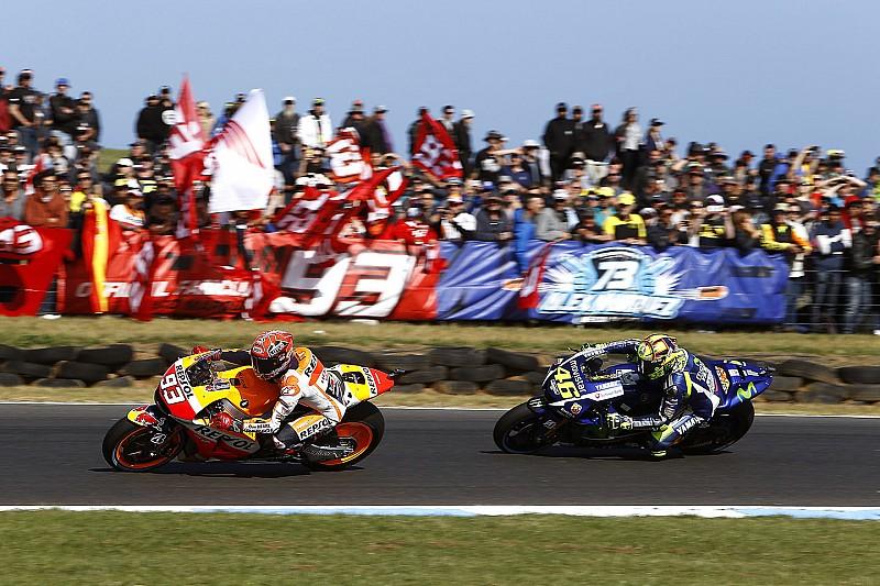 Marquez não espera pedido de desculpas de Rossi