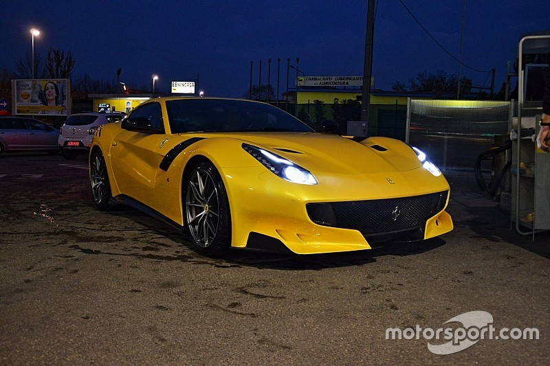 Photos - La Ferrari F12tdf surprise à la veille de sa présentation officielle!