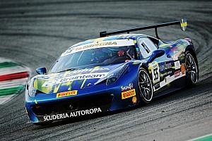Ferrari Qualifyingbericht Matteo Santoponte mit Startplatz eins bei Trofeo Pirelli