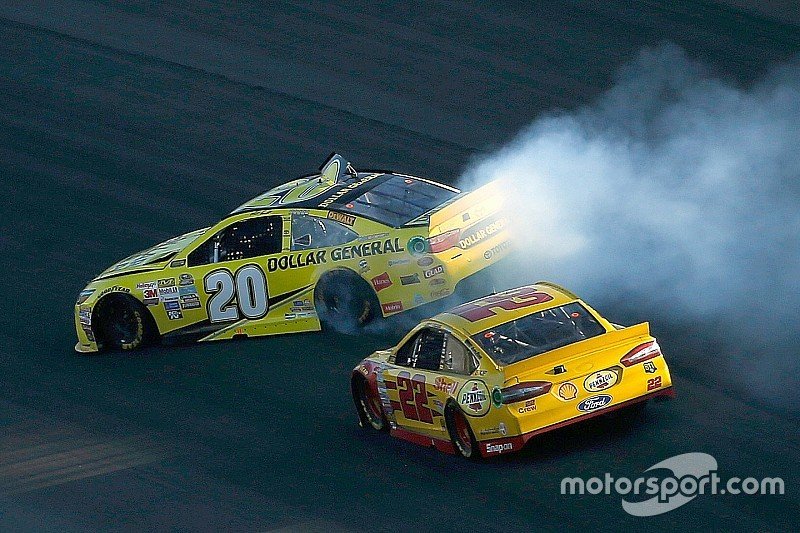 NASCAR-Payback: Matt Kenseth vs. Joey Logano