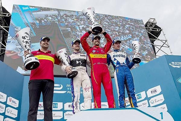 Fórmula E Di Grassi se llevó la victoria en Malasia